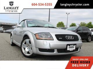 Used 2001 Audi TT BASE  Wholesale Direct / Convertible / Leather / Manual for sale in Surrey, BC