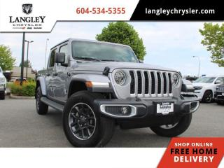Used 2020 Jeep Gladiator Overland  Tow Package / Leather / Navi / Cold Weather Group for sale in Surrey, BC