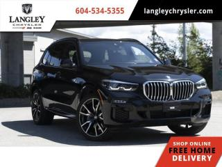 Used 2020 BMW X5 xDrive40i  Loads of Options/ Heads Up Display/ Pano-sunroof for sale in Surrey, BC