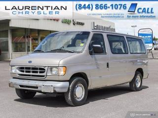 Used 2002 Ford Econoline Wagon XL!!  CERTIFIED!! for sale in Sudbury, ON