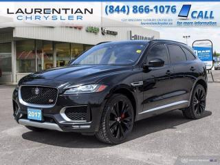 Used 2017 Jaguar F-PACE S!!  LEATHER!!  AWD!! for sale in Sudbury, ON