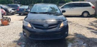 Used 2012 Toyota Corolla for sale in Oshawa, ON