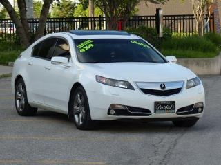Used 2012 Acura TL SH-AWD,TECH PCKG,NAV,REAR-CAM,LEATHER,NO-ACCIDENTS for sale in Mississauga, ON
