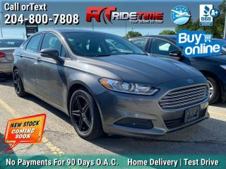 Used 2014 Ford Fusion SE for sale in Winnipeg, MB