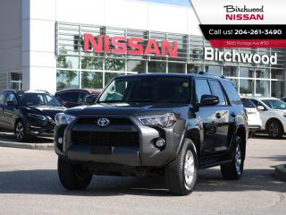 Used 2019 Toyota 4Runner 4WD SR5, Nav,Heated Seats,Roof for sale in Winnipeg, MB