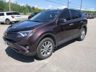 Used 2017 Toyota RAV4 LIMITED  for sale in North Bay, ON