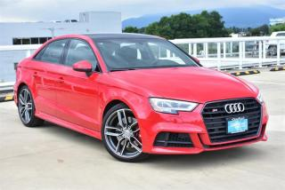 Used 2017 Audi S3 2.0T Technik quattro 6sp S tronic for sale in Burnaby, BC