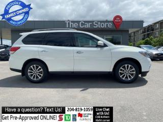 Used 2014 Nissan Pathfinder 4WD SV 3rows Htd Seat Rear Cam Push start bluetoot for sale in Winnipeg, MB