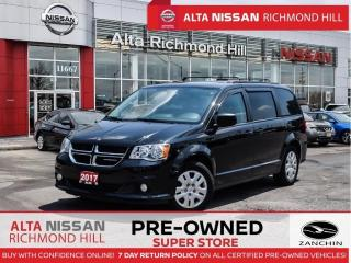 Used 2017 Dodge Grand Caravan SXT   Power Seats   Fogs   Keyless Entry for sale in Richmond Hill, ON