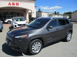 Used 2016 Jeep Cherokee Limited 4WD for sale in Grand Forks, BC
