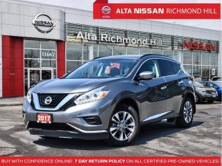 Used 2017 Nissan Murano S   18 Alloy   Heated Seats   Navi   Push Start for sale in Richmond Hill, ON