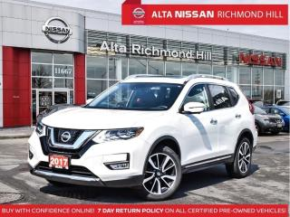 Used 2017 Nissan Rogue SL Plat.   Leather   360   Pano   Navi   Leds for sale in Richmond Hill, ON
