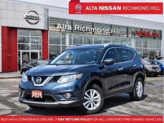 Used 2016 Nissan Rogue SV Tech   Navi   Pano   360 CAM   Heated Steering for sale in Richmond Hill, ON