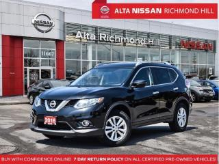 Used 2016 Nissan Rogue SV Tech   NVI   Pano   360 CAM   Heated Steering for sale in Richmond Hill, ON