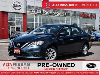 Used 2016 Nissan Sentra SV   Push Start   Sunroof   Heated Seats for sale in Richmond Hill, ON