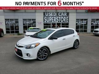 Used 2016 Kia Forte5 SX Luxury, Leather, Sunroof, Navigation. for sale in Niagara Falls, ON