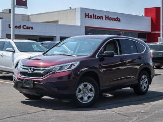 Used 2016 Honda CR-V LX AWD|NO ACCDENTS for sale in Burlington, ON