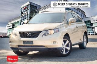 Used 2010 Lexus RX 350 6A No Accident| Back-Up Camera for sale in Thornhill, ON