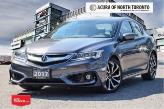 Used 2017 Acura ILX A-Spec 8DCT No Accident| Remote Start| Navigation for sale in Thornhill, ON