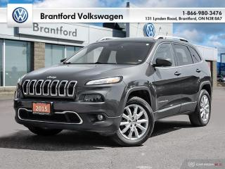 Used 2015 Jeep Cherokee 4X4 LIMITED for sale in Brantford, ON