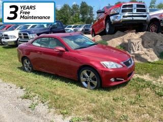 Used 2010 Lexus IS 350 C Base for sale in Smiths Falls, ON