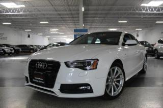 Used 2016 Audi A5 S-LINE I PROGRESSIV I SUNROOF I REAR CAM I HEATED SEATS for sale in Mississauga, ON