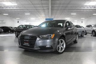 Used 2016 Audi A3 SUNROOF I HEATED SEATS I PUSH START I LEATHER I BT for sale in Mississauga, ON
