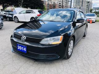 Used 2014 Volkswagen Jetta Sedan 5 Speed Manual/ New BRAKES/Cold AC for sale in Markham, ON
