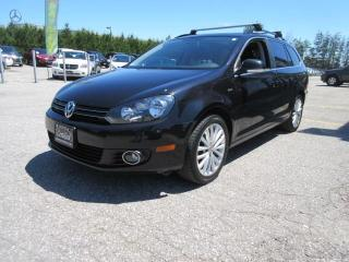 Used 2014 Volkswagen Golf Wagon WOLFSBERG EDITION for sale in Newmarket, ON