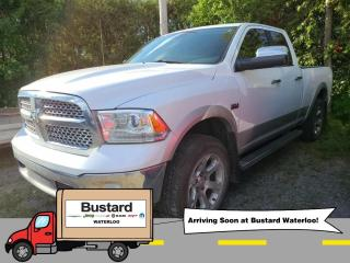 Used 2014 RAM 1500 4WD Quad Cab 140.5  Laramie | Sunroof | Navi for sale in Waterloo, ON