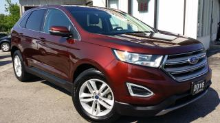 Used 2016 Ford Edge SEL FWD -LEATHER! PANO ROOF! NAV! BACK-UP CAM! for sale in Kitchener, ON
