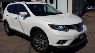 Used 2014 Nissan Rogue SL AWD - LEATHER! NAV! 360 CAM! BSM! for sale in Kitchener, ON