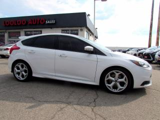 Used 2013 Ford Focus ST 6 Speed Manual Hatchback Navigation Certified for sale in Milton, ON