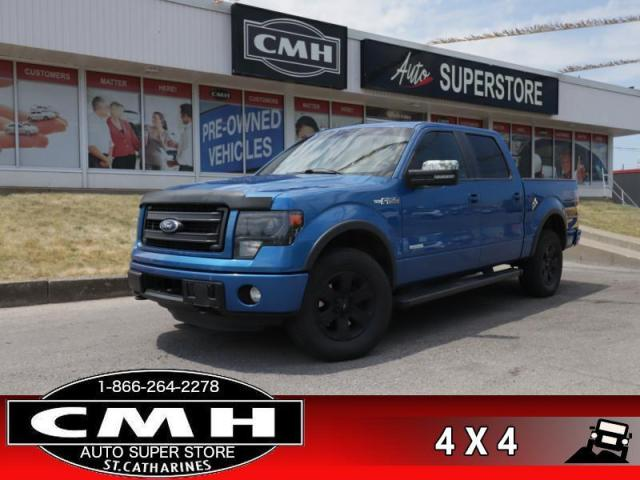 2013 Ford F-150 FX4  LEATH ROOF P/SEATS HS BUCKETS/CONSOLE