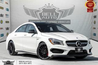 Used 2015 Mercedes-Benz CLA-Class CLA 45 AMG, AWD, NAVI, REAR CAM, B.SPOT, RECARO for sale in Toronto, ON