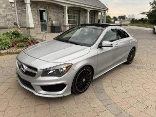 Used 2015 Mercedes-Benz CLA250 4MATIC + NAVIGATION + MAGS AMG + CAMERA for sale in St-Eustache, QC