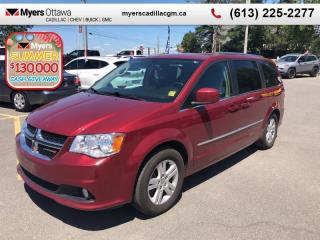 Used 2015 Dodge Grand Caravan Crew Plus  CREW, DVD, LEATHER, POWER DOORS/TAILGATE, SUPER CLEAN! for sale in Ottawa, ON