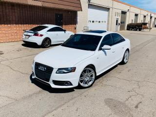 Used 2012 Audi A4 2.0T PREMIUM | S LINE | SERVICED for sale in Burlington, ON