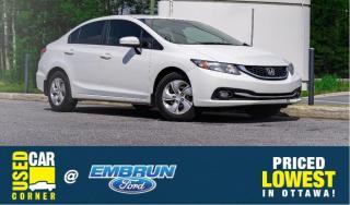 Used 2015 Honda Civic SEDAN LX for sale in Embrun, ON