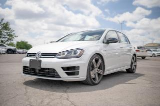 Used 2017 Volkswagen Golf R 2.0 TSI NAVI/LEATHER/ONLY 42,000 KMS for sale in Concord, ON