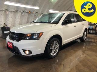 Used 2014 Dodge Journey SXT Blacktop * Uconnect 8.4 CD/DVD/MP3 * 8.4 INCH Touch Screen Display * Push button ignition * Keyless/Passive Entry * Power Locks/windows/mirrors * for sale in Cambridge, ON