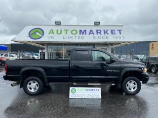Used 2005 Dodge Ram 3500 LARAMIE Quad Cab Long Bed 4WD FREE BCAA & WRNTY! for sale in Langley, BC