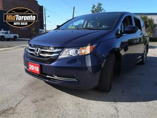 Used 2016 Honda Odyssey EX-L | Navi | Leather | Power Sun Roof | One Owner | No Accidents for sale in North York, ON