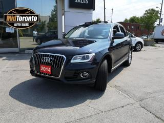 Used 2014 Audi Q5 2.0 Quattro - Premium Plus Progressive - Power Roof - Navigation - Leather - One Owner - No Accidents for sale in North York, ON