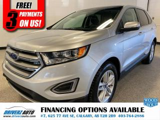 Used 2018 Ford Edge SEL HEATED LEATHER & STEERING WHEEL, AND MUCH MORE.. for sale in Calgary, AB