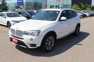 Used 2015 BMW X3 xDrive28d Beautiful 2015 BMW X3 in Great Condition! for sale in Waterloo, ON