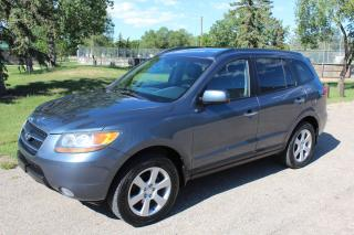 Used 2009 Hyundai Santa Fe LIMITED LEATHER SUNROOF AWD for sale in Regina, SK