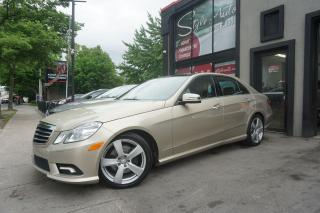 Used 2010 Mercedes-Benz E-Class for sale in Laval, QC
