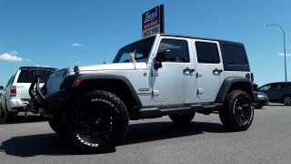 Used 2012 Jeep Wrangler UNLIMITED SPORT for sale in Brandon, MB