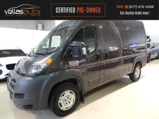 Used 2018 RAM ProMaster 2500 HIGH ROOF  136 INCH WB  3PASS  NAVI for sale in Vaughan, ON